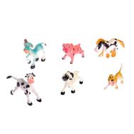 """Набор животных """"Домашние обаяшки"""", 6 фигурок, фото 1"""