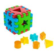 Игрушка развивающая «Волшебный куб», 12 элементов, фото 1