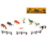 """Набор животных """"Дикая природа"""" с аксессуарами, 6 фигурок, фото 1"""