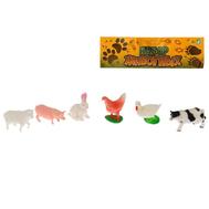 "Набор животных ""Моя ферма"", 6 фигурок, фото 1"