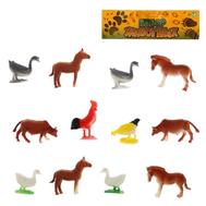 Набор животных «Весёлая ферма», 12 фигурок, фото 1