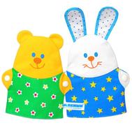 """Игрушки-рукавички """"Зайка и Мишка"""", фото 1"""