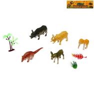 """Набор животных """"Дикая природа"""", 5 фигурок с аксессуарами, фото 1"""