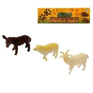 Набор животных «Весёлая ферма», 3 фигурки, фото 1