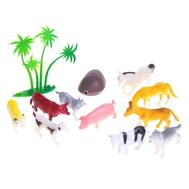 """Набор животных """"На ферме"""", 10 фигурок с аксессуарами, фото 1"""