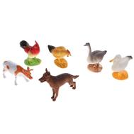 "Набор животных ""Зелёная ферма"", 6 фигурок, фото 1"