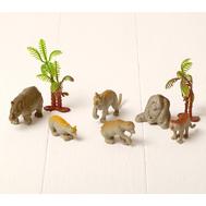 "Набор животных ""Зоопарк"" с аксессуарами, 6 фигурок, фото 1"