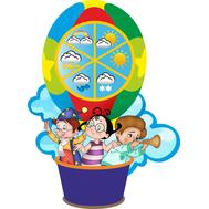 Обучающий стенд для детского сада КАЛЕНДАРЬ ПРИРОДЫ (погода), 0,4*0,5м, фото 1