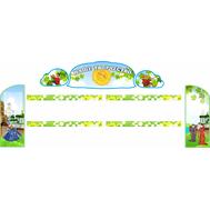 Комплект стендов для детских рисунков (Купцы), 2,77*1,2м, фото 1