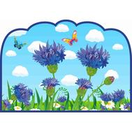 Табличка для детского сада ГРУППА ВАСИЛЕК, фото 1