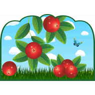 Табличка для детского сада ГРУППА БРУСНИКА, фото 1