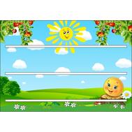 Стенд для детских поделок КОЛОБОК, 0,65*0,45м, фото 1