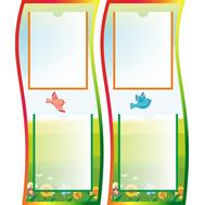 Информационный стенд для детского сада (птички), фото 1