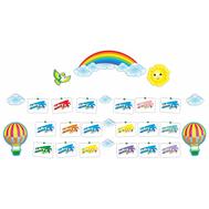 Декоративный комплект с леской для рисунков НАШЕ ТВОРЧЕСТВО (Воздушные шары), 3,19*1,485м, фото 1