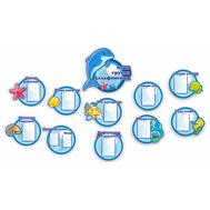 Комплект стендов для детского сада НАША ГРУППА ДЕЛЬФИНЕНОК, 3,4*1,9м, фото 1