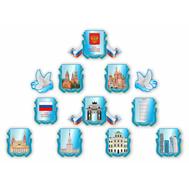 Комплект настенных декораций СИМВОЛИКА РФ, 2,35*1,74м, фото 1