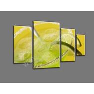 """Четырехмодульная картина """"Лимонад"""", фото 1"""