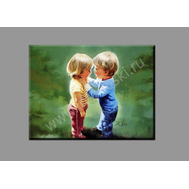 """Картина на подрамнике """"Маленькие друзья"""" (печать на холсте), фото 1"""