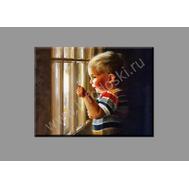 """Картина на подрамнике """"У окна"""" (печать на холсте), фото 1"""