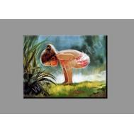 """Картина на подрамнике """"Девочка и гусеница"""", фото 1"""