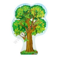 Плакат-дерево А3 ДУБ Ф-8731 ВЫРУБКА, фото 1