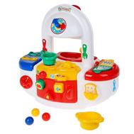 """Игровой модуль """"Кухня"""" с набором посуды и продуктов, фото 1"""