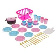 Детский кухонный набор «Пикник», 35 предметов, МИКС, фото 1