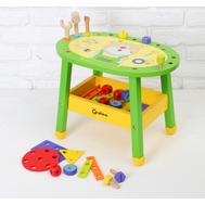 Игровой стол с набором инструментов и деталей, фото 1