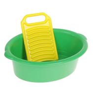 """Игровой набор """"Золушка"""": тазик, стиральная доска, МИКС, фото 1"""