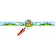 Магнитная полоса для детских рисунков для группы ТЕРЕМОК 1*0,07м, фото 1