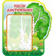 Стенд НАШИ ДОСТИЖЕНИЯ для группы АЛЕНУШКА, 0,5*0,4м, фото 1