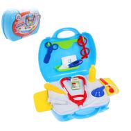 """Игровой набор """"Доктор"""" в чемодане, 17 предметов, фото 1"""