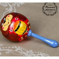 Погремушка «Мишка», шар, 11 см, фото 1