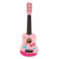 """Игрушка музыкальная """"Гитара"""", 54 см, розовая, фото 1"""