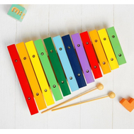 Музыкальная игрушка «Ксилофон», 12 тонов + 2 палочки, фото 1