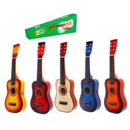 """Музыкальная игрушка """"Гитара"""" 58 см, 6 струн, медиатор, цвета МИКС, фото 1"""