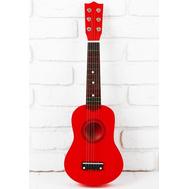 """Игрушка музыкальная """"Гитара"""", цвет красный, фото 1"""