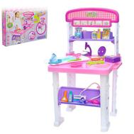 """Игровой набор """"Столик медсестры"""", 2 варианта сборки, 23 предмета, высота 70 см, фото 1"""