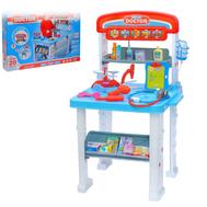 """Игровой набор """"Столик доктора"""", 2 варианта сборки, 16 предметов, высота 70 см, фото 1"""