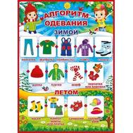 Плакат А2 АЛГОРИТМ ОДЕВАНИЯ, 64.625, фото 1