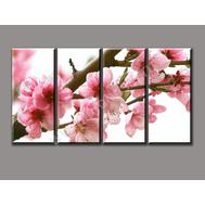 """Четырехмодульная картина """"Весеннее цветение"""", фото 1"""