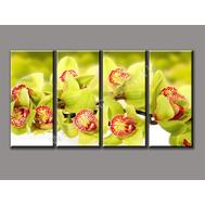 """Четырехмодульная картина """"Весенние цветы"""", фото 1"""