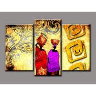 """Трехмодульная картина """"Африканские мотивы"""", фото 1"""
