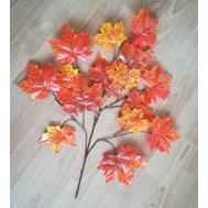 Ветка клена желто-оранж., 70см, фото 1
