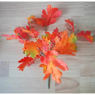 Букет из листьев оранжевый, 35см, фото 1