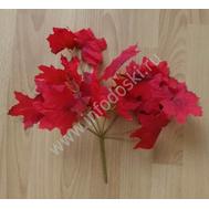 Букет из листьев красный, 35см, фото 1