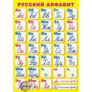 Плакат А2 РУССКИЙ АЛФАВИТ (прописной) ПЛ-6129, фото 1