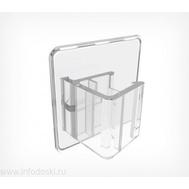 Клипса для крепления рамок больших форматов под углом 0° к поверхности, фото 1