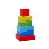 Пирамидка СТУПЕНЬКИ ПСТ03, фото 1