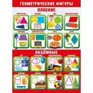 Плакат А2 ГЕОМЕТРИЧЕСКИЕ ФИГУРЫ 084.889, фото 1